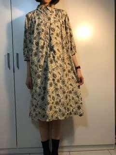 🚚 Vintage 日本帶回 洋裝