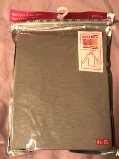 UNIQLO Heatthech Turtleneck Longsleeve Brown Size S