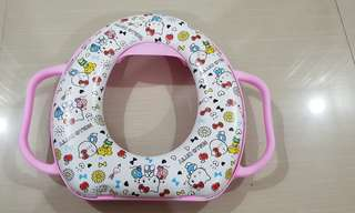 Toddler toilet cushion seat cover