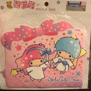 Little Twin Stars mouse pad