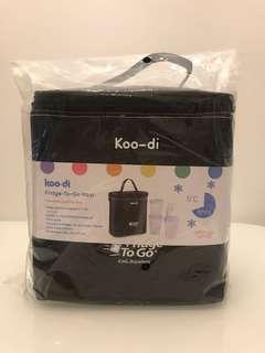 BNIB - Koo-di fridge to go Maxi - Milk Storage Cooler Bag