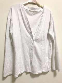白色罩衫 #一百元好物