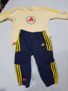Adidas set from fisher price