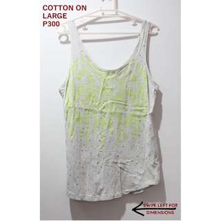 Cotton On Gray Tank Top