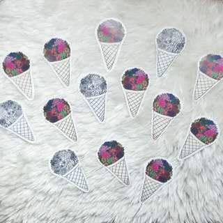 Ice Cream Clear Sticker | Sloodle & Co.