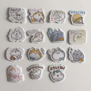 Fat Cat stickers