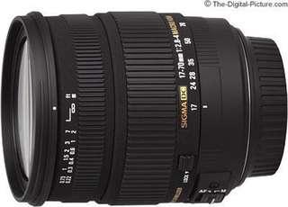 🚚 Sigma 17-70mm Dc macro os 防手震 鏡頭 for canon  (Nikon tamron 17-50mm可參考