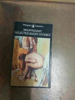 Maupassant Selected Short Stories