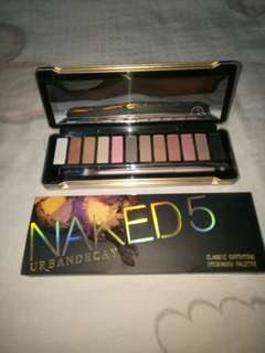 Naked 5 urban decay palette