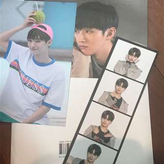 Wanna One Photo Essay Photostrip