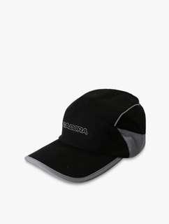 Topi DIADORA Running Cap, Black Grey. DIAHPM71103B. 100%Original