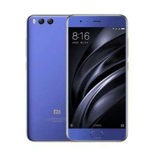 Xiaomi mi 6 4/64 blue bisa cicil tanpa kartu kredit