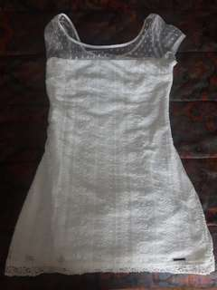 Abercrombie and Fitch white dress