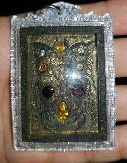 Kruba Krissana Butterfly Amulet b.e 2560 versak day hand make 9 PC