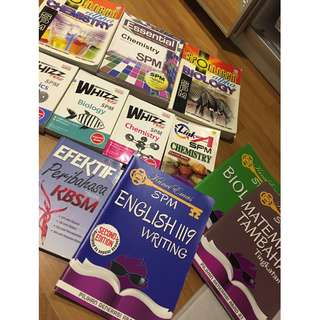 SPM BOOKS ALL FOR RM20