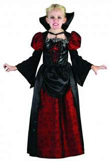 Girl's Gothic Vampire Costume