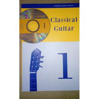 Yamaha Classical Guitar Course Book 1 and 2 with CD