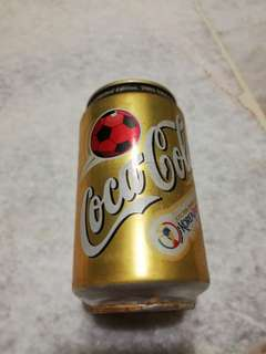 coca cola can 2002 worldcup gold edition #Ramadhan50