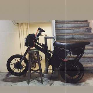 96V Ebike ( Black and Red theme )