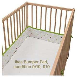 Bumper Pad for Baby Cot