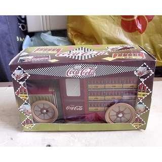 90年代產品可口可樂汽水運輸車造型鐵皮車一部 (議價不覆)