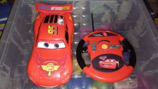 Lighting McQueen car