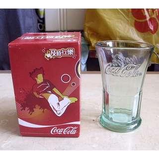 可口可樂及時行樂活動推廣換購凸字可樂水杯一隻 (議價不覆)