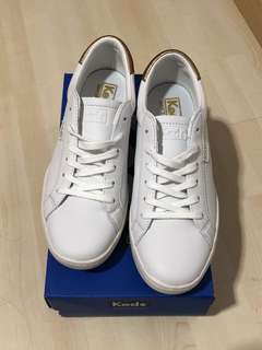 Keds Ace Leather White/Rose Gold