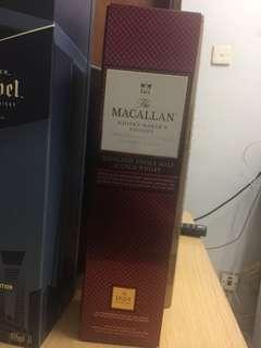 Macallan Highland Single Malt Scotch Whisky
