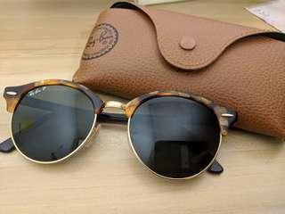 Sunglasses ray ban POLARIZED clubround  太陽眼鏡