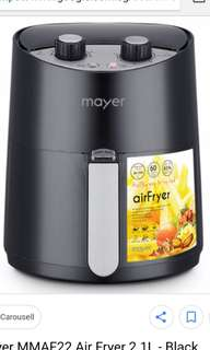 Brand new Meyer MMAF22 2.1l air fryer without box