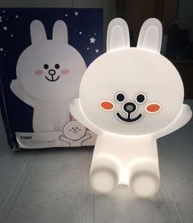Brand New Line friends Hug Me Corny Rechargeable LED Night Touch Lamp adjustable brightness kids room home decor