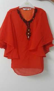 Baju Kurung Moden semi Jubah