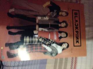 Kpop black pink poster free shipping with freebies