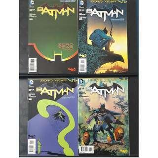 Batman #30, #31, #32 & #33