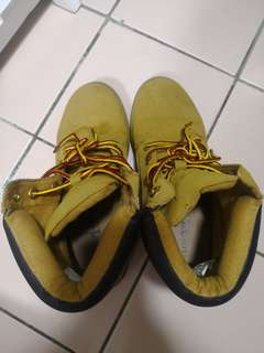 London rebel Timberland inspired boots