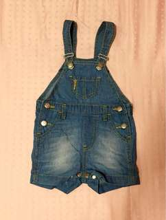 Denim Jumper shorts