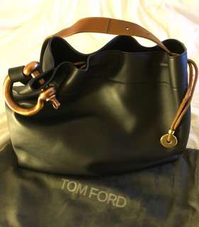 Tom Ford Fisherman Hook Hobo Bag - as new, a real bargain