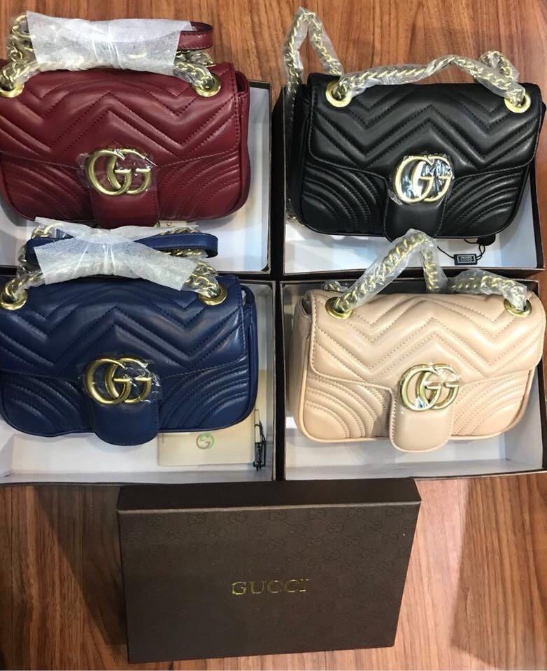 3616aa473f9 9a Gucci Marmont Matelasse shoulder bag