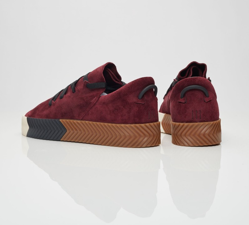 new concept 7e366 6d9d4 Adidas x Alexander Wang AW skate in maroon, Womens Fashion, Shoes on  Carousell