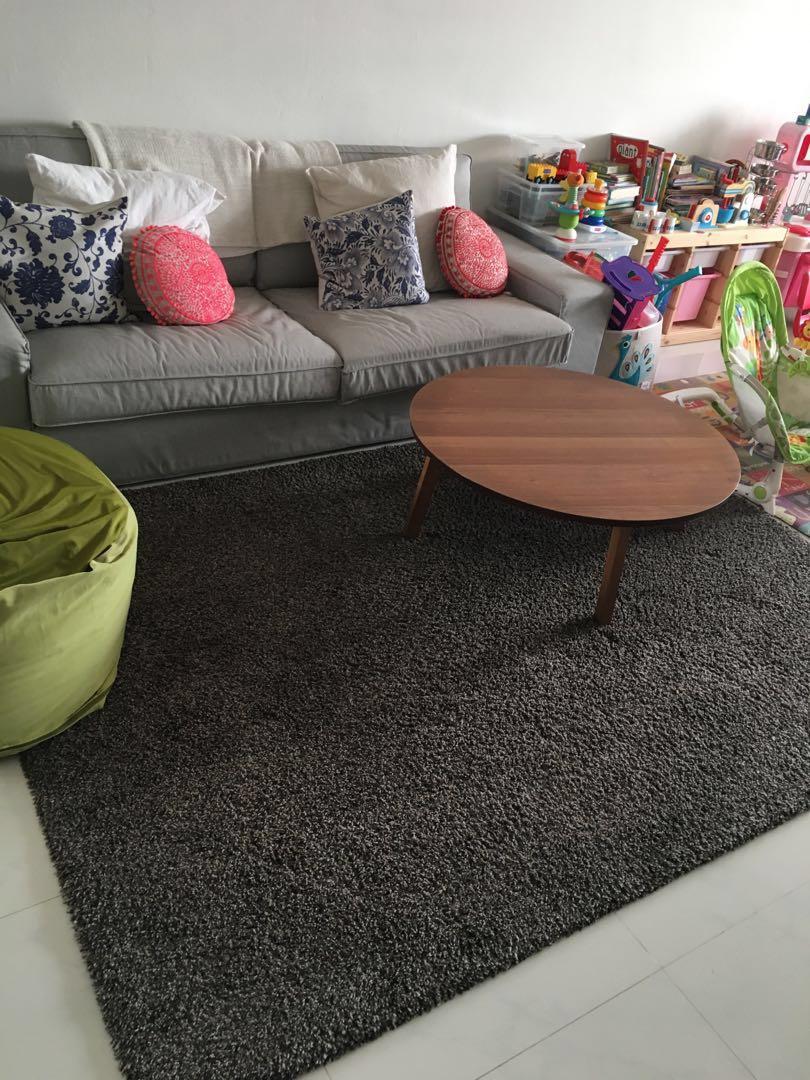 ADUM Carpet Rug Ikea, Furniture, Home