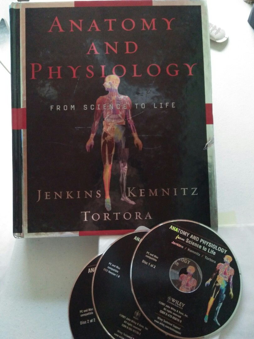 Anatomy and Physiology, Books, Books on Carousell