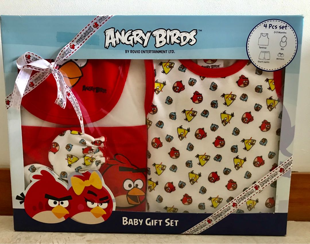 f18d9b4b583a Angry Birds Baby Clothes Set
