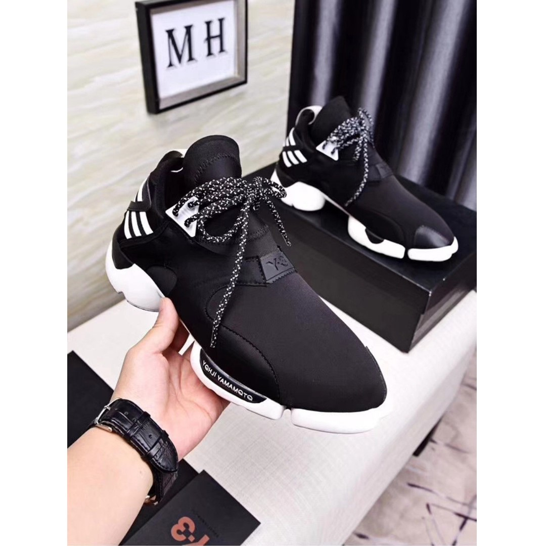 0a4fc4e33 Authentic 2018 Y3 Qasa High Yohji Yamamoto Light Weight Lace Up ...