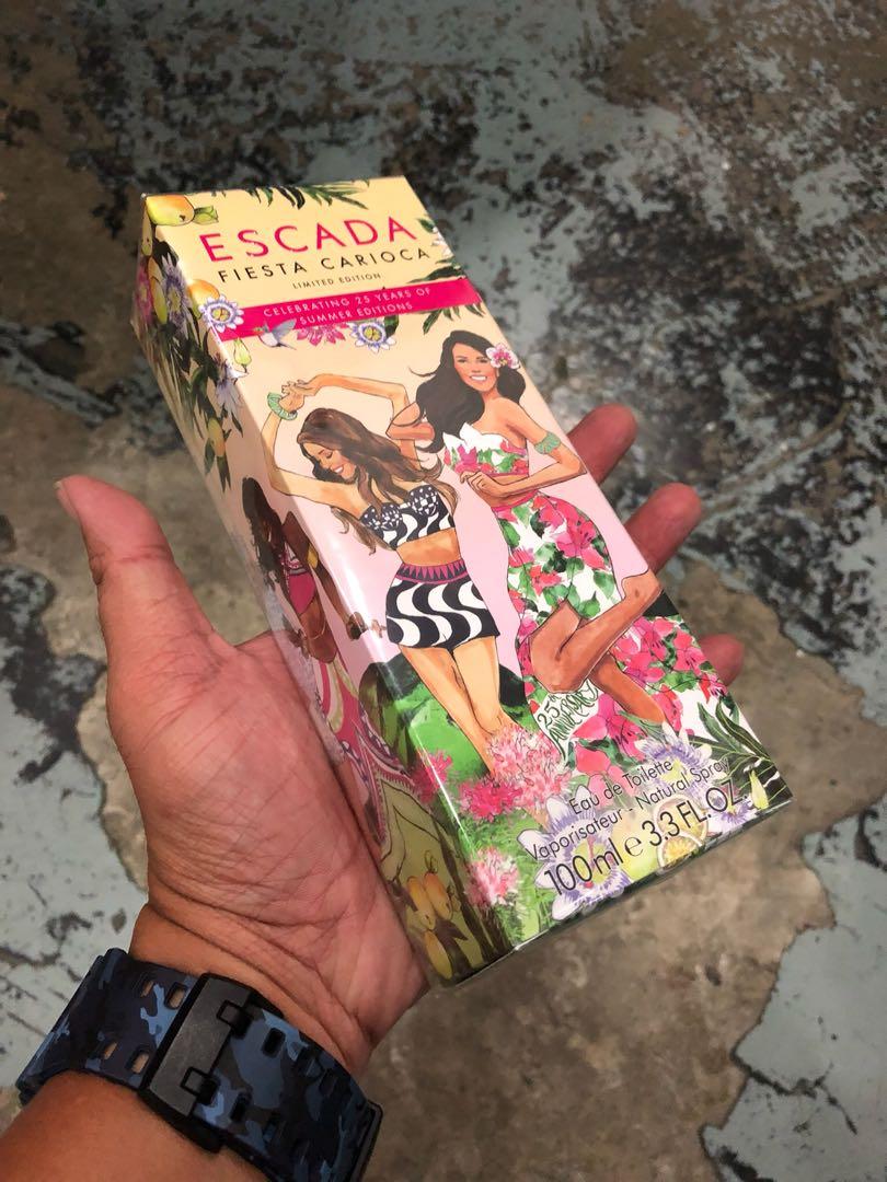 Authentic Original Escada Fiesta Carioca Perfume 100ml Limited Stock