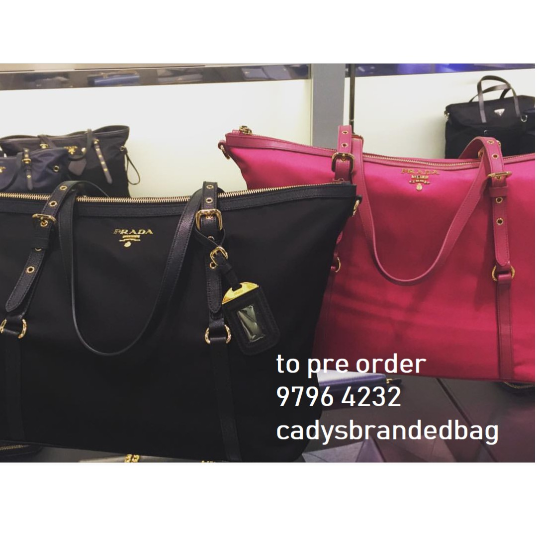 090e2f7dcb23 Authentic PRADA bags to Pre order, Everything Else on Carousell