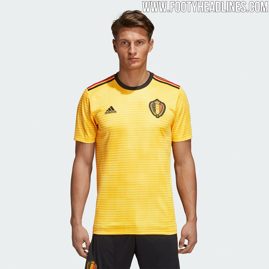 331a6f9499c Belgium world cup 2018 away jersey, Sports, Sports Apparel on Carousell