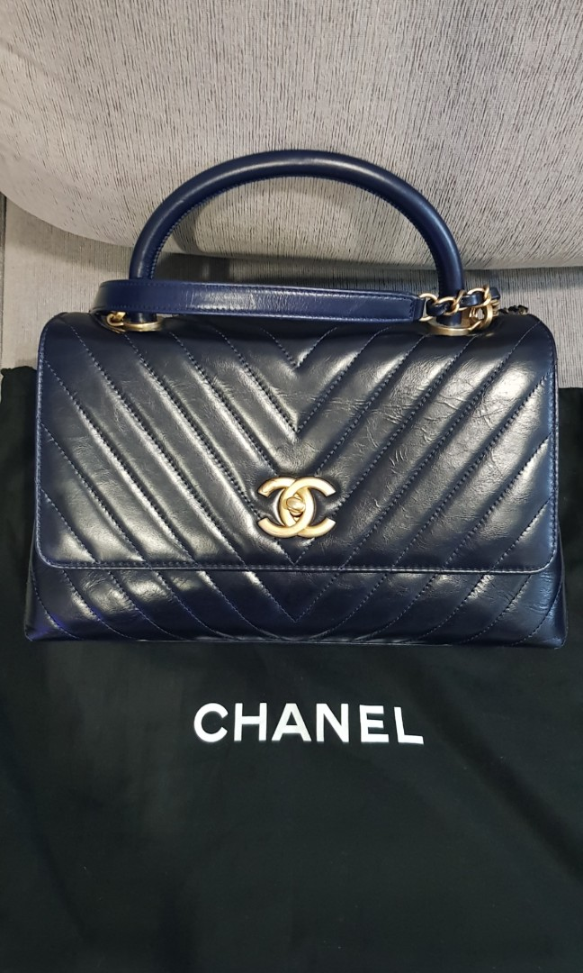 00a1b6b28d26 Chanel CoCo Handle 24 series, Luxury, Bags & Wallets, Handbags on ...