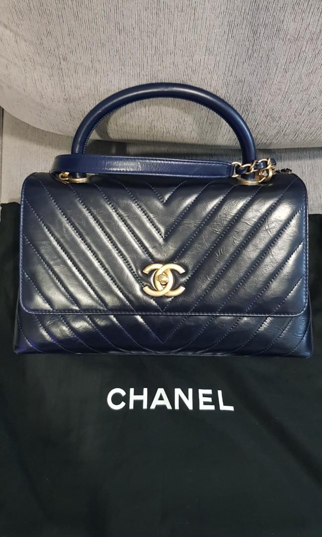 00a1b6b28d26 Chanel CoCo Handle 24 series, Luxury, Bags & Wallets, Handbags on ...