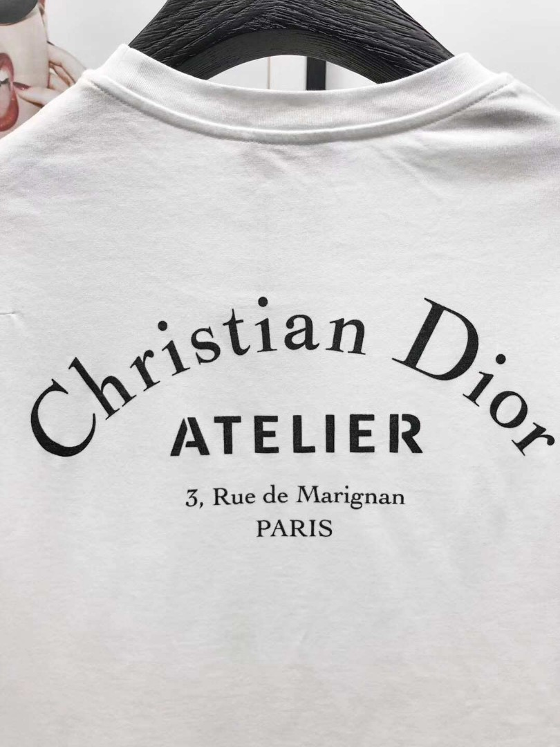 198889a73 Christian Dior Atelier Print T-Shirt, Men's Fashion, Clothes, Tops on  Carousell